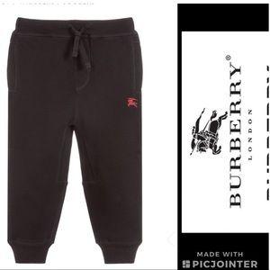Burberry 🔴100% cotton joggers kids